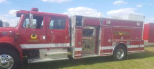2001 International Combo Unit Fire Truck