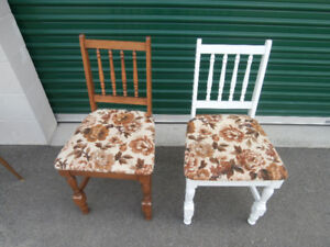 2 Chairs. Gerard Ouellet Inc. Quebec made.