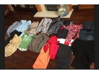 Clothes bundle Ladies Mens Kids 2 Large bags