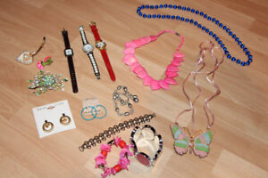 ASSORTED JEWELRY PIECES