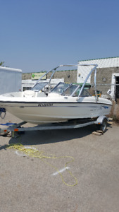 2008 bayliner175 bowrider with wake tower