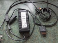Full set of xbox cables and power pack