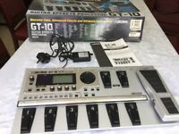 Boss GT-10 guitar effects processor pedal