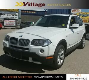 2010 BMW X3 xDrive28i Panoramic Sunroof, All Wheel Drive, Lea...