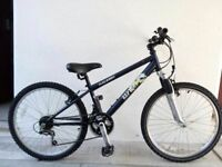 "FREE Lights with (2532) 24"" RALEIGH BOYS GIRLS MOUNTAIN BIKE BICYCLE Age: 8-11; Height: 130-145 cm"
