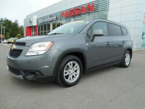 2012 Chevrolet Orlando LT AUTOMATIQUE 7 PASSAGERS BLUETOOTH A/C