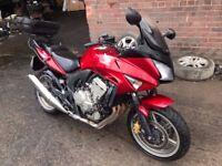 2008 HONDA CBF CBF 600 SA-8 599cc RED