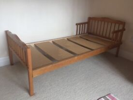 Toddler's Wooden Bed