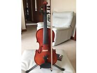 ABSOLUTE BARGAIN -- SUPERIOR QUALITY HIDERSINE 4/4 VIOLIN FOR SALE - AS NEW