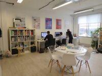 Creative studio / space / office / in Netil House, London Fields, Hackney