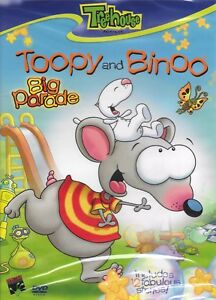 Treehouse's Toopy and Binoo Big Parade Brand New and Sealed DVD