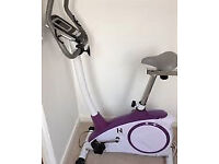 Tesco Kelly Holmes exercise bike in mint condition