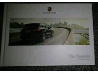 PORSCHE Cayenne Hardback Brochure
