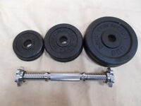 Body Revolution Cast Iron Dumbbell Set for Home Gym, Strength and Fitness
