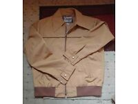 Mens beige jacket size 36