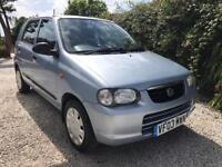 03 Suzuki Alto 1.1 GL 5 Door. Only 61000 Miles. One Owner from new.