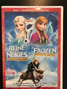 DVD- la reine des neiges et autres DVD