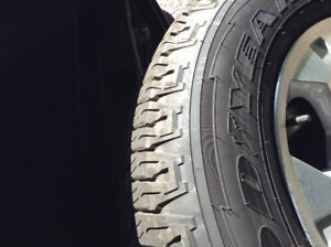 M+S P 265/6R18 Goodyear tires