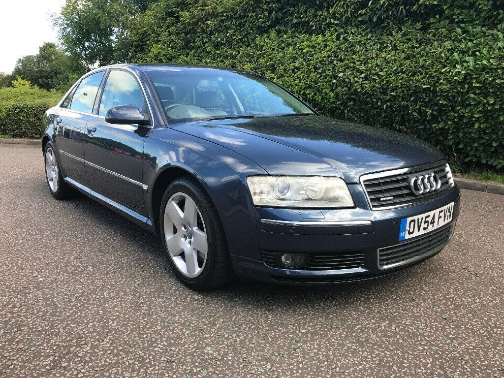 2004 audi a8 4 0 tdi quattro auto v8 service history runs well top spec 7 series s class in. Black Bedroom Furniture Sets. Home Design Ideas