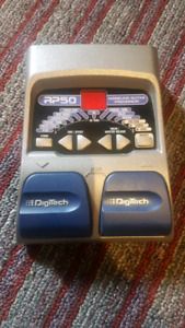Digitech RP50 multi effects processor
