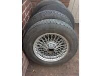 Austin Healey / MGB Wheels And Tyres