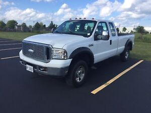 2006 Ford F-250 XLT 5.4 4x4 8 Foot Box 197kms!!!