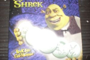 Disney's Shrek Coin Set w/stickers