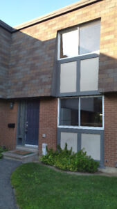 For rent 3 bedroom townhouse with finished basement