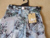 Ladies Brand New Long Strapless Dress, Size 8 Brand Miso
