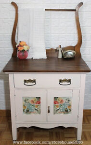 Refinished Antique Wash Stand
