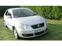 Volkswagen Polo 1.4TDI ( 70PS ) 2008MY Match - BEAUTIFUL DIESEL £30 ROAD TAX