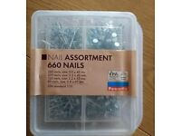 Box of nails 40mm 45mm 55mm 65mm
