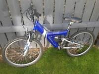 Bike Apollo Excel.suit age 8 to 14 in vgc full suspension Mountain bike