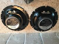 REAR PARCEL SHELF SPEAKERS PIONEER SET PAIR OF 2 £15 ONO