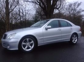 2005 MERCEDES C220 CDI AVANTGARDE 6 SPEED MANUAL 122000 MILES ONLY DRIVES NICE