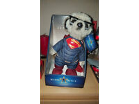 Sergei as Superman Meerkat Compare the Market/Meerkat Limited Edition Toy