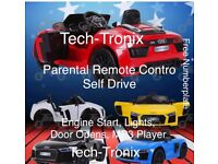 Audi R8 Ride-On Car, Parental Remote Or Self Drive 12v