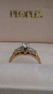 Ring – Gold Diamond Engagement Ring