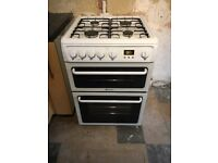 Hotpoint double oven grill and hob