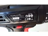 Great battery powered drill plus drill bits