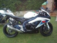 2010 L0 suzuki gsxr 750 low mileage service history excellent condition