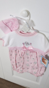 Vitamins Brand...2 Piece Cute Lamb Outfit 3-6 mths. (New $15)