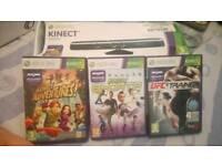 Xbox kinkect and games