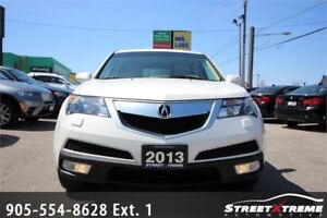 2013 Acura MDX Tech Pkg |7 PASSENGER|BACKUP CAM|NAVI|SUNROOF|AWD