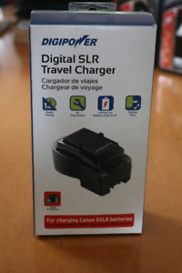 DigiPower  Travel Canon DSLR Batt Charger