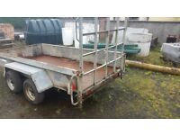 Indespension Trailer 10' x 5' double axle