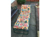 Luxury Padded Sun Lounger for sale - Almost New