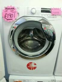 HOOVER 9KG 1400 SPIN WASHING MACHINE IN WHITE ☆GRADED☆