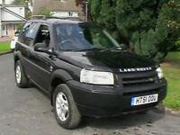 2002 51 REG LAND ROVER FREELANDER 2.5 V6 ES AUTOMATIC 3 DR HARD BACK 4X4 ESTATE
