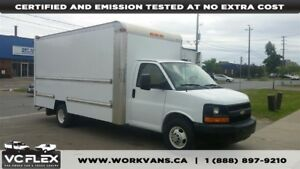 2012 Chevrolet Express G3500 16Ft V8 Gas + Ramp - CERTIFIED